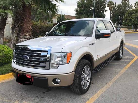 Ford Lobo 5.0l Xlt Cabina Doble 4x2 Mt 2014