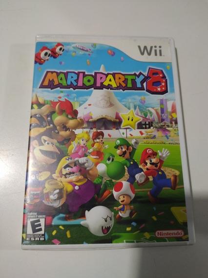 Jogo Mario Party 8 Original Para Nintendo Wii.