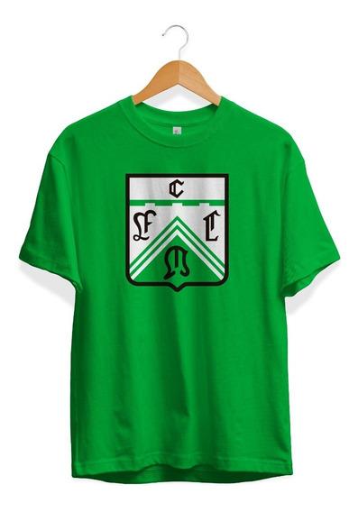 Remera Ferro Carril Oeste Logo En El Pecho Simple Verde