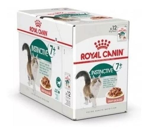 Imagen 1 de 1 de Pouch Royal Canin Gato Instinctive 7+ Caja X 12u Vet Juncal