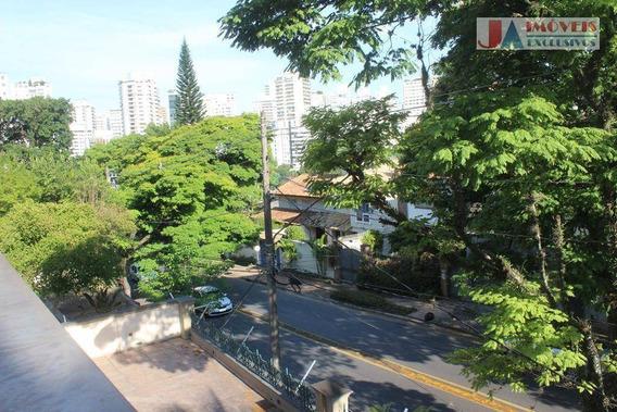 Casa Com 5 Dormitórios Para Alugar, 470 M² Por R$ 15.000/mês - Pacaembu - São Paulo/sp - Ca1542