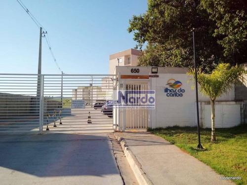 Apartamento À Venda Em Bragança Paulista, Residencial Ilhas Do Caribe - Ap0195