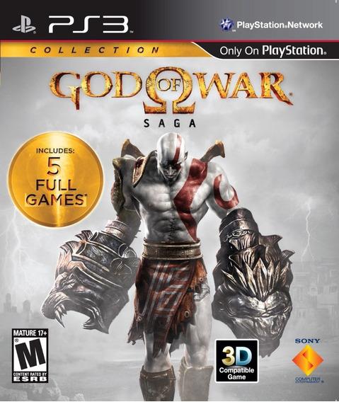 God Of War Saga - Ps3 - Mídia Física