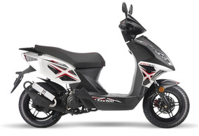 Keeway Scooter Fact 50 Cc 2 Tiempos Delcar Motos