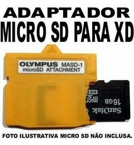 Xd Olympus Adaptador Micro Sd Frete 12,00 Brasil