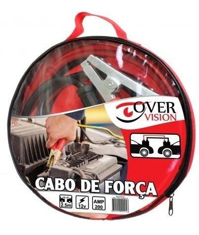 Cabo Chupeta Carregador Para Bateria De Carro 200a Fiat