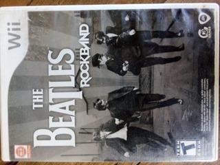 The Beatles: Rock Band Para Nintendo Wii (usado)