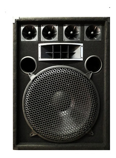 Bafle 15 PuLG.3 Vias 250w Rms Oferta Music Box Hurling