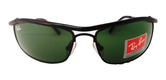 Oculos De Sol Rayban Demolidor Rb3339 Cristal