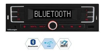 Radio Automotivo Original Volkswagen Com Bluetooth Mp3 Usb Aux - Vw´s Gol, Saveiro, Voyage, Up !