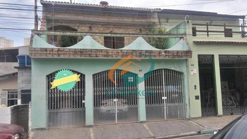 Imagem 1 de 30 de Sobrado Com 3 Dormitórios À Venda, 238 M² Por R$ 780.000,00 - Jardim Nazaret - Guarulhos/sp - So0229