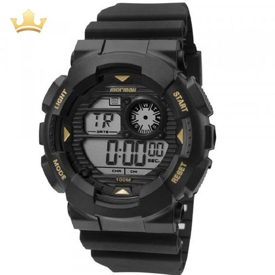 Relógio Mormaii Masculino Mo3415a/8p Com Nf