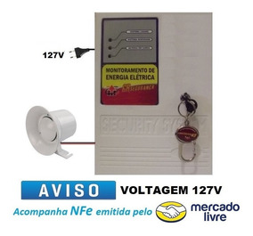 Alarme Sonoro Temporizado Falta De Energia Elétrica Bateria