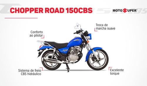 Nova Chopper Road 150 Zero Km