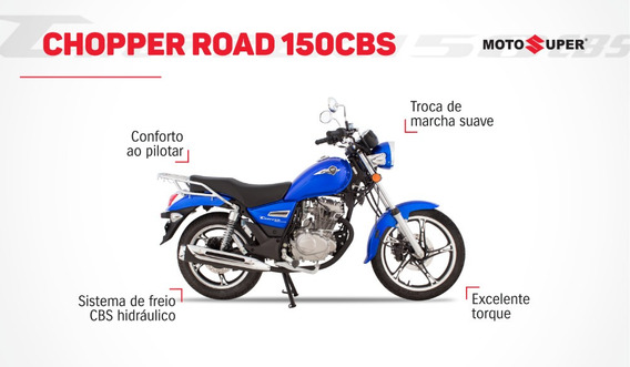Nova Chopper Road 150 Zero Km Ano 2020