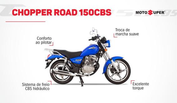 Nova Chopper Road 150 Zero Km Ano 2020
