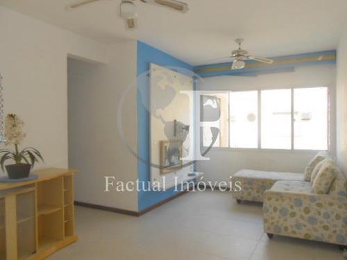 Apartamento Com 3 Dormitórios À Venda, 80 M² - Vila Júlia - Guarujá/sp - Ap10822