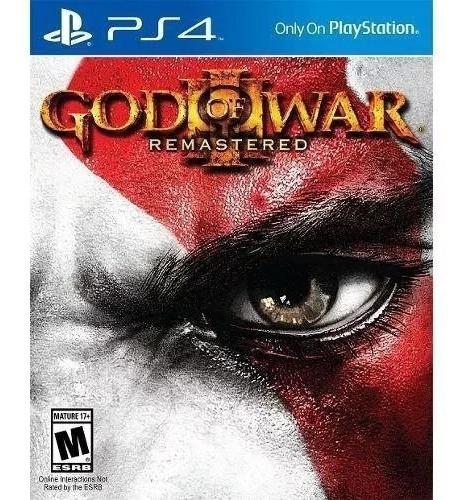 Jogo Ps4 God Of War 3 Remastered Playstation Ps4 Cuh2115