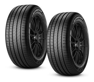 Paquete De 2 Llantas Pirelli 215/65r17 Scorpion Verde 99v