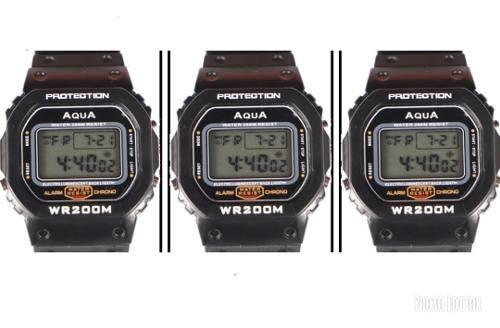 Kit 3 Relógios Masculino Digital Gp 519 Prova D