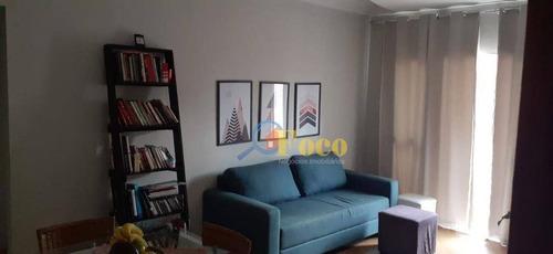 Imagem 1 de 16 de Apartamento Com 3 Dormitórios À Venda, 69 M² Por R$ 255.000,00 - Residencial Fernanda - Itatiba/sp - Ap0450