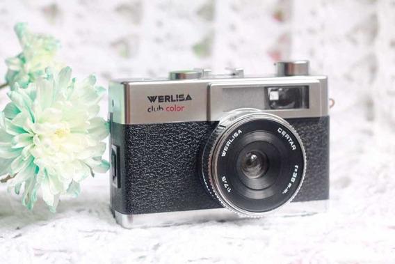 Câmera Werlisa Club Color - Analógica Vintage_funcionando