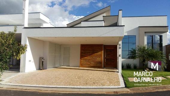03 Suites , Gourmet E Demais Dependencias,condomínio Fechado - Parque Das Esmeraldas Ii - Marília/sp - Ca0435
