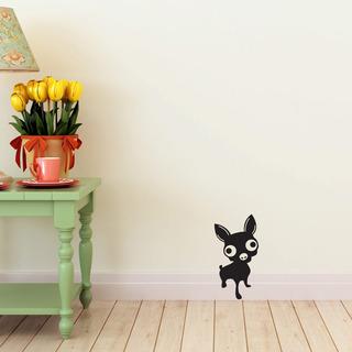 Vinilo Decorativo Perro Chihuahua Mas De 10mil Diseño