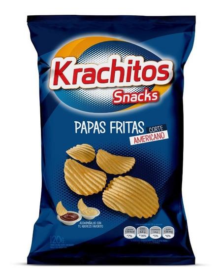 Papas Fritas Krachitos 120g Corte Americano