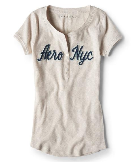Camiseta De Dama Aeropostale Original Nueva Talla Medium