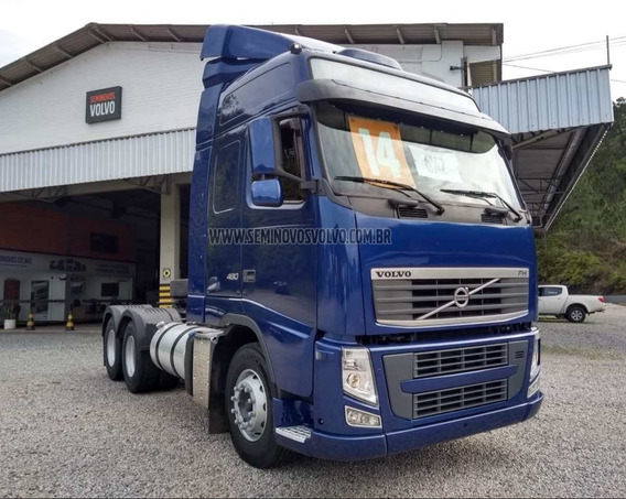 Volvo Fh-460 Globetrotter 6x2 - Manual 13/14 Azul
