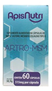 Artro Msm Colágeno Tipo 2 Uc2 Uc Ii + Msm Apisnutri 60 Caps