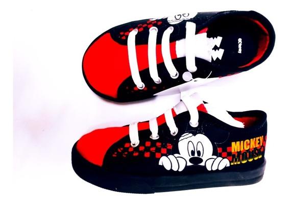 Tênis Mickey Mouse Infantil Menino Diversão Disney 24 42
