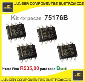 75176b - Sn75176b - S N 7 5 1 7 6 B - Kit Com 4x Unidades