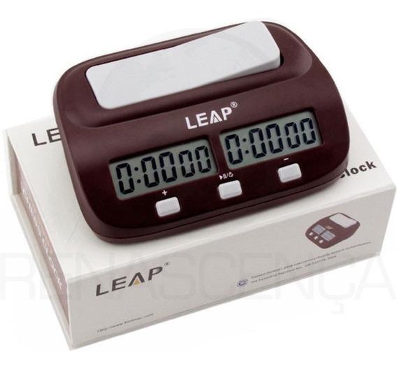 Relógio De Xadrez Leap Clock Digital Original - Jogo Oficial