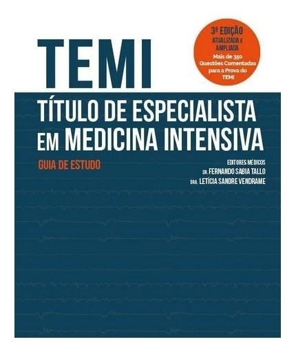 Temi - Título De Especialista Em Medicina Intensiva 2019