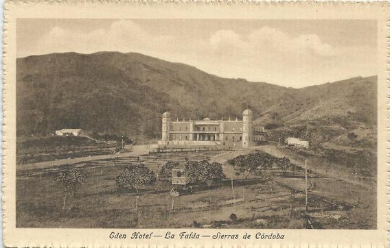 Antigua Postal Hotel Eden La Falda , Prov. Córdoba