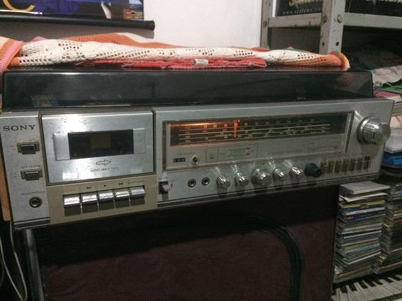 Som Raridade Sony Modelo Hmk-353bs-lindo
