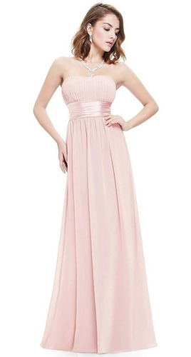Vestido De Fiesta Elegante Noche Dama De Honor