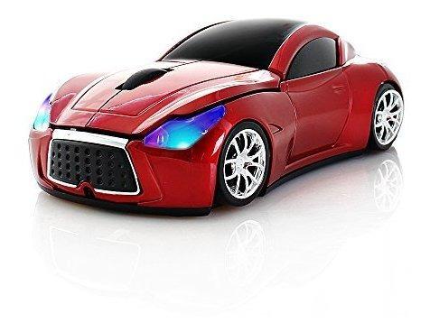 Usbkingdom 2 4 Ghz Forma Cool Sport Car Ratones Sin Hilos De Mercado Libre