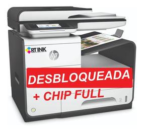 Multifuncional Hp 477dw Desbloqueada Com Chip Full Nova