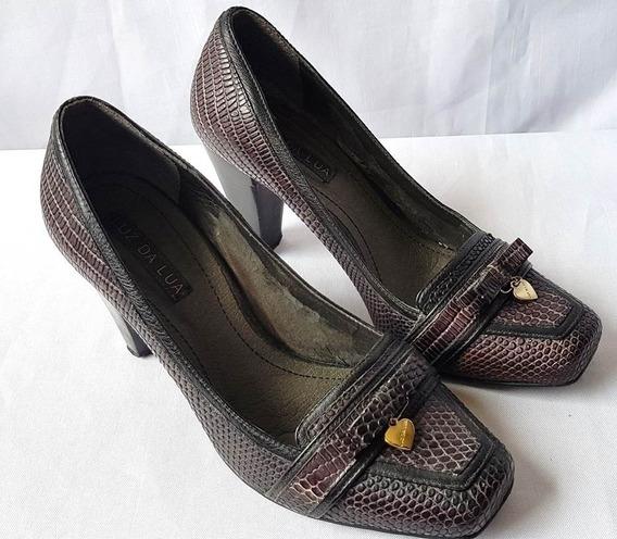 Sapato Feminino Luz Da Lua Original Modelo Boneca Nº 35