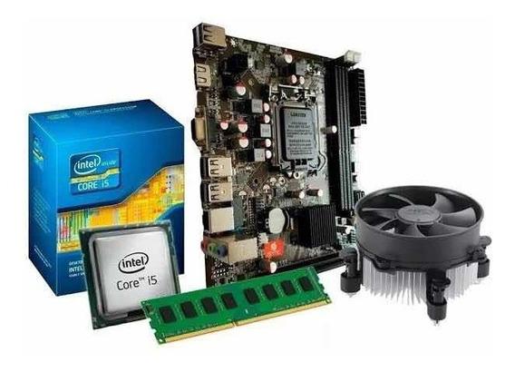 Kit I5 3470 + Placa Q77 1155 + 8gb Ddr3 1600 Mhz