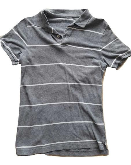Polo Shirt Gap Gris Hombre S