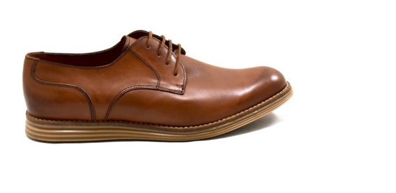 Zapato De Cuero Para Hombre Con Suela De Goma - 390-s