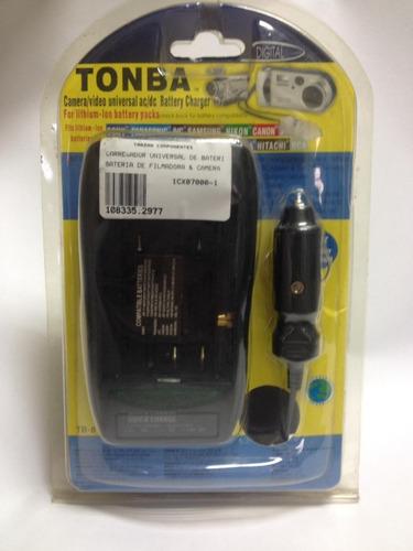 Carregador Universal De Bateria De Filmadora/câmera | Tonba