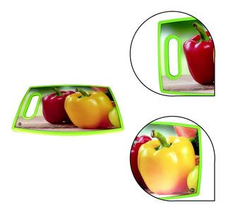 Tabla Para Cortar Hermoso Diseño Frutal Lujo 30 Cm X 20 Cm