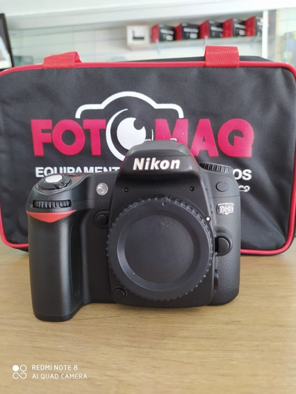 Câmera Fotográfica Nikon D80 Relíquia !