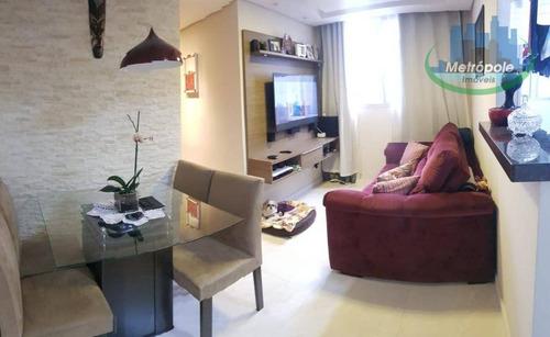 Apartamento À Venda, 45 M² Por R$ 260.000,00 - Gopoúva - Guarulhos/sp - Ap0927