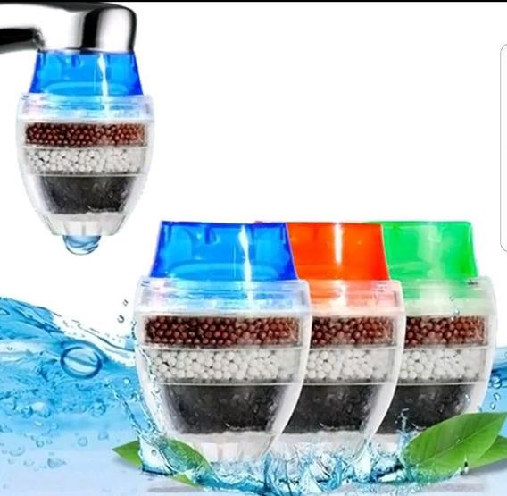 Filtro Purificador Agua P/ Canilla 21 A 23 Mm A Presion Descartable Ideal Vacaciones
